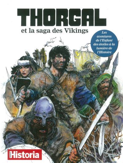 Couverture Historia hors-série - Thorgal et la saga des Vikings