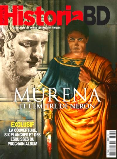 Couverture Hors-série historia Murena