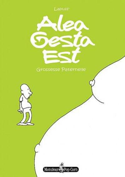 image de alea gesta est, grossesse paternelle