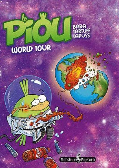 Couverture le piou tome 3 - world tour