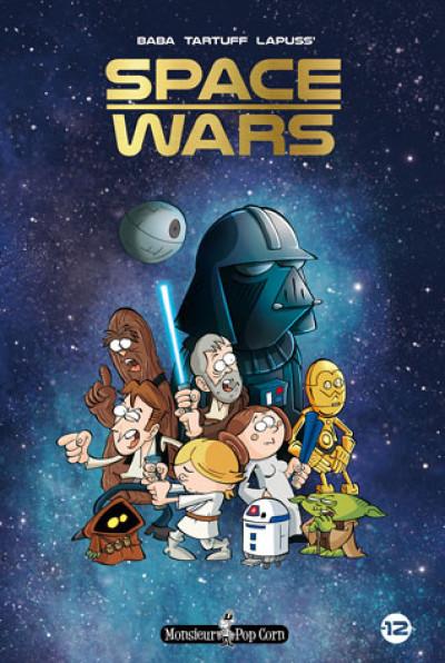 Couverture Space wars - la saga