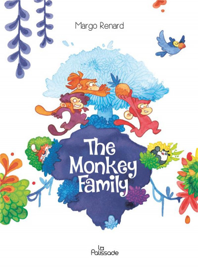 Couverture The monkey family