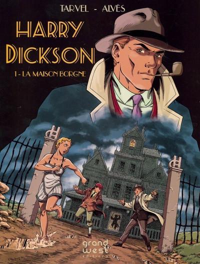 image de les nouveaux exploits d'Harry Dickson tome 1 - La maison borgne