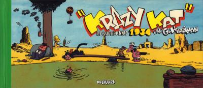 Couverture Krazy kat - les quotidiennes 1934
