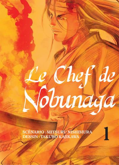 Couverture Le chef de Nobunaga tome 1
