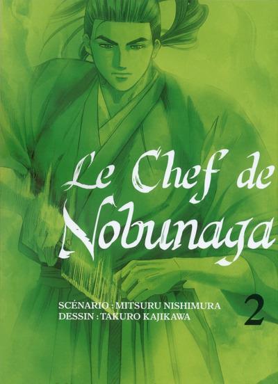 Couverture le chef de Nobunaga tome 2