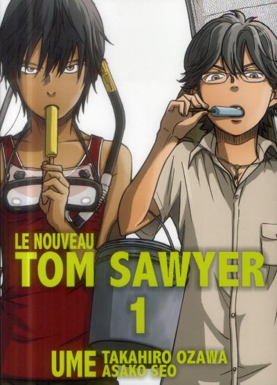 Couverture le nouveau Tom Sawyer tome 1