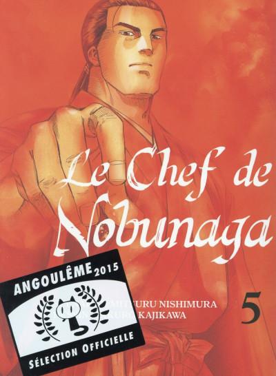 Couverture le chef de nobunaga tome 5