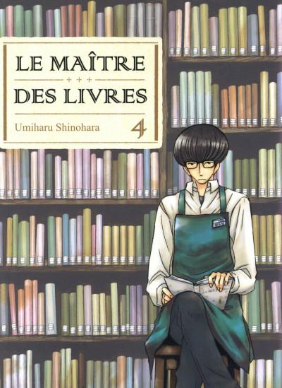 Couverture Le maître des livres tome 4