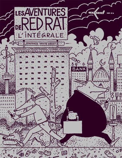 Couverture Les aventures de Red Rat - coffret tomes 1 à 3