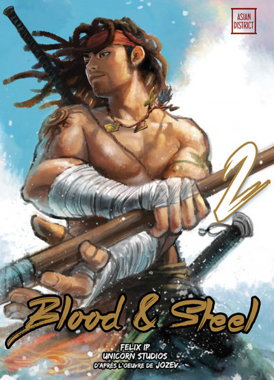 Couverture Blood and steel tome 2