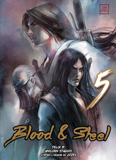 Couverture Blood and steel tome 5