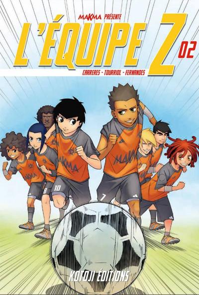 Couverture L'équipe Z tome 2