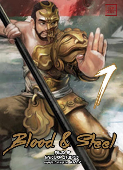Couverture Blood and steel tome 7
