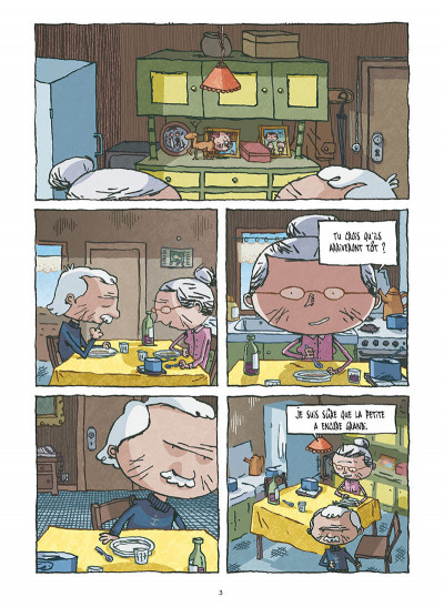 Page 1 la Petite famille ; intégrale