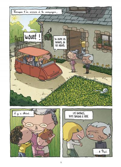 Page 3 la Petite famille ; intégrale