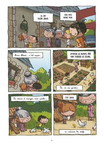 Page 4 la Petite famille ; intégrale