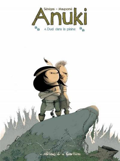 Couverture Anuki tome 4 - duel dans la plaine