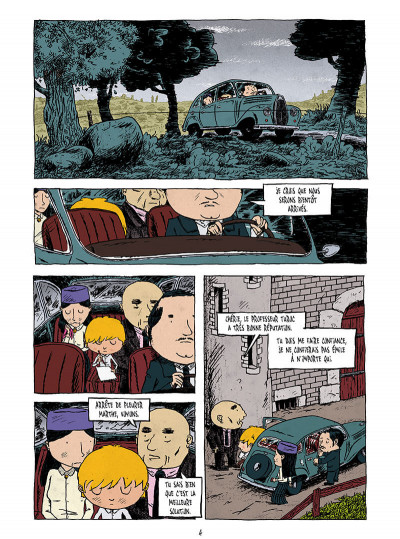 Page 2 La pension Moreau tome 1