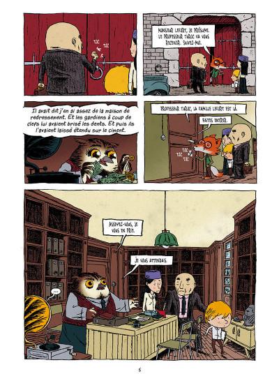 Page 3 La pension Moreau tome 1