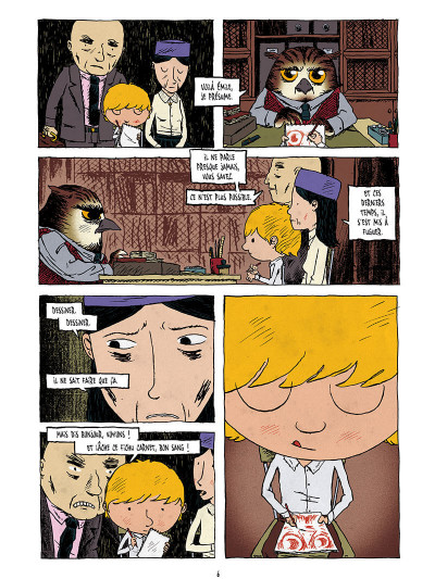 Page 4 La pension Moreau tome 1