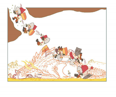 Page 5 Myrmidon dans l'antre du dragon