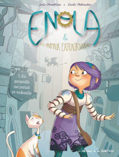 Couverture Enola et les animaux extraordinaires tome 1