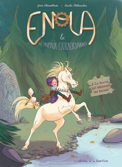 Couverture Enola et les animaux extraordinaires tome 2