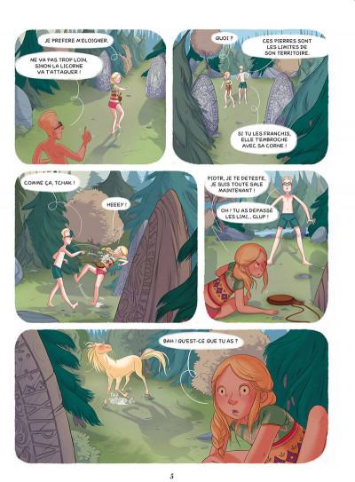 Page 3 Enola et les animaux extraordinaires tome 2