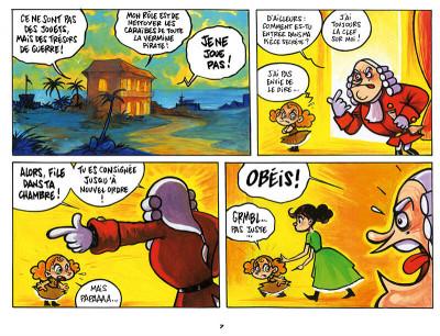 Page 5 Lili Crochette et Monsieur Mouche tome 1
