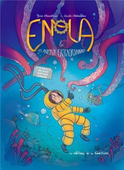 Couverture Enola et les animaux extraordinaires tome 3
