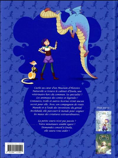 Dos Enola et les animaux extraordinaires tome 3