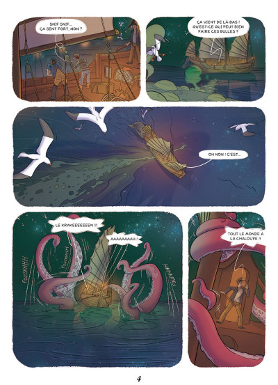 Page 2 Enola et les animaux extraordinaires tome 3