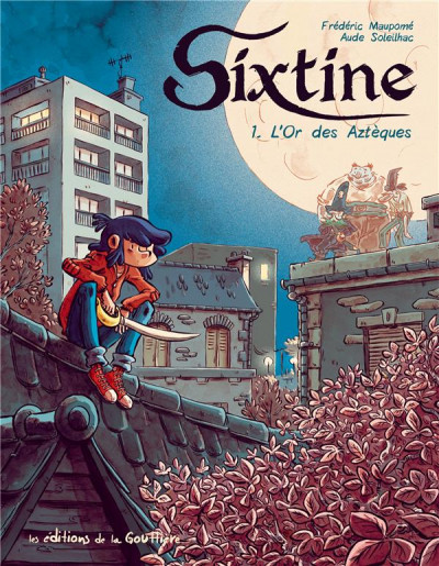 Couverture Sixtine tome 1