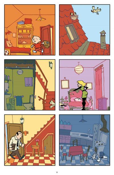 Page 4 La maison la nuit