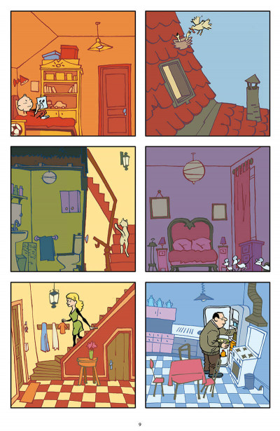 Page 5 La maison la nuit