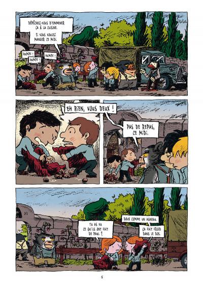 Page 3 La pension Moreau tome 2