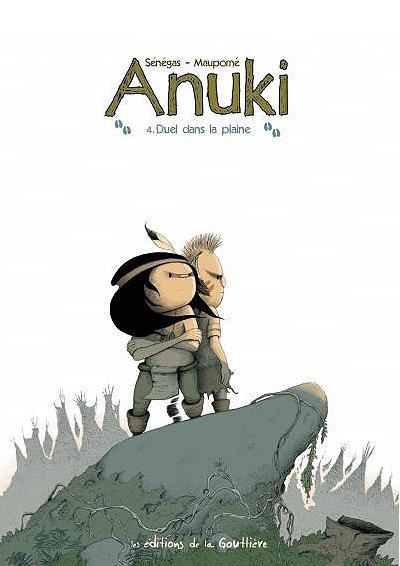 Couverture Anuki tome 4