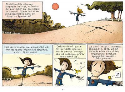 Page 1 L'émouvantail tome 1