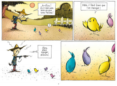 Page 2 L'émouvantail tome 1