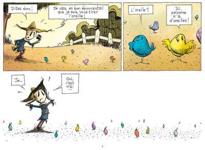 Page 3 L'émouvantail tome 1