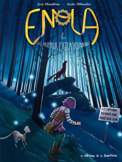 Couverture Enola et les animaux extraordinaires tome 5