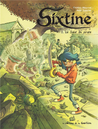 Couverture Sixtine tome 3