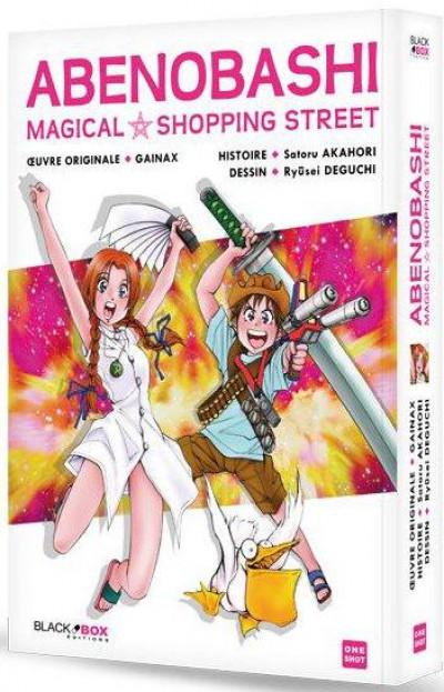 Couverture abenobashi magical shopping street ; intégrale