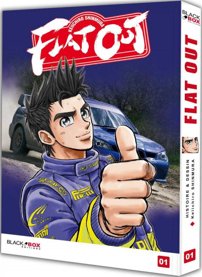 Couverture Flat out tome 1