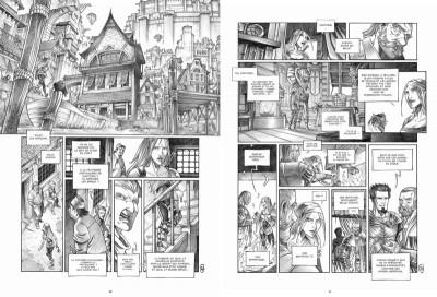Page 0 Tirage de tête Trois Peuples Intégrale - Crayonné