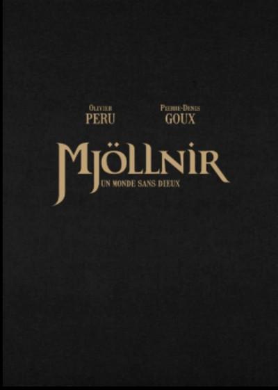 Couverture Mjöllnir - tirage de tête tome 3