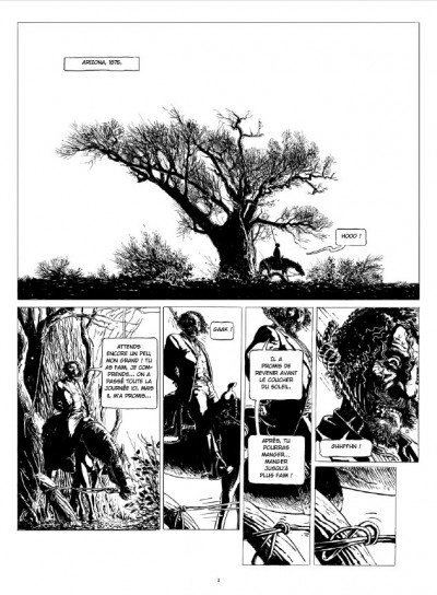 Page 4 Marshal Bass - intégrale noir & blanc