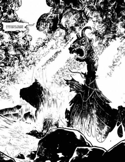 Page 3 Serpent dieu - tirage de tête tome 1