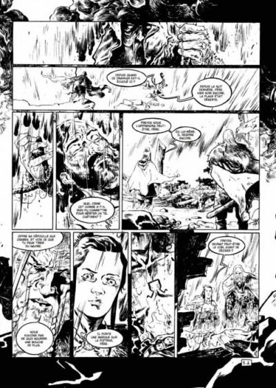 Page 4 Serpent dieu - tirage de tête tome 1